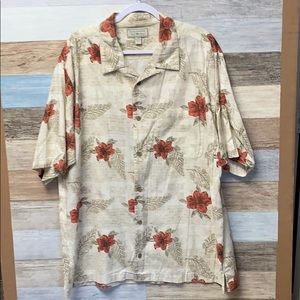 Clearwater Outfitters Hawaiian Shirt, XL